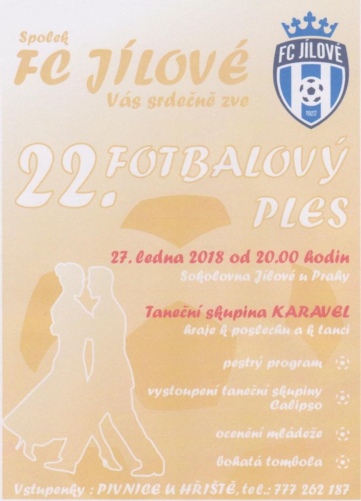 22. fotbalový ples
